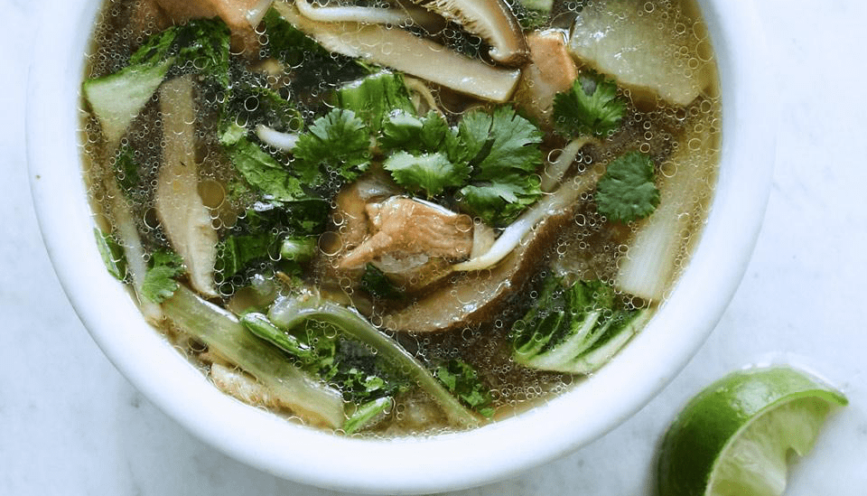 asian chicken soup to boost your immune system