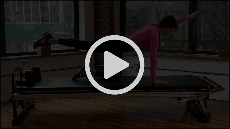 15 Minute Spine Moves with Lynda Salerno Gehrman, NYC Pilates Instructor in Brooklyn, NY.