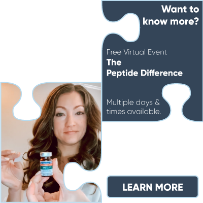 Free Virtual Event: The Peptide Difference