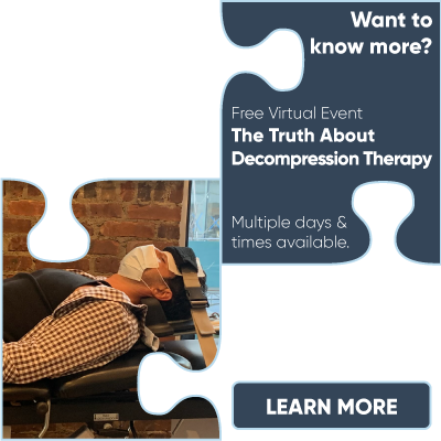 Free Virtual Event: The Truth About Decompression Therapy