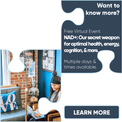 Free Virtual Event: NAD+: Our secret weapon for optimal health, energy, cognition, & more.