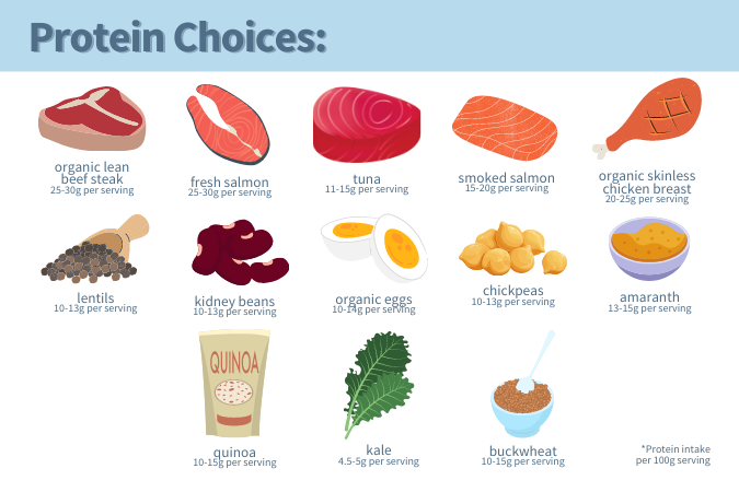 Nutritional Macros: Protein options for a runner's diet while preparing for a marathon or long-distance run.